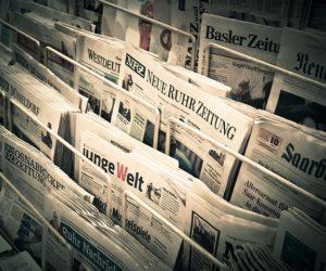Medien Zeitung Presse