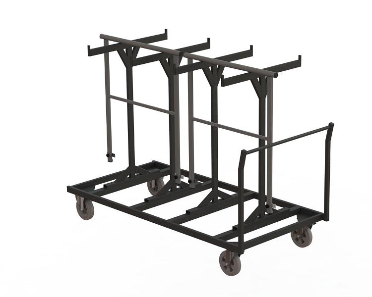 Transportwagen für Geländer