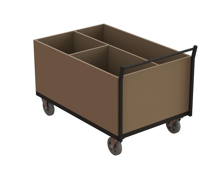 Transportwagen Robusto für Zubehör