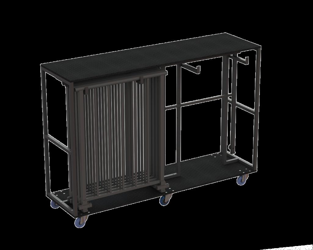 CargoBox Railing mit Geländer